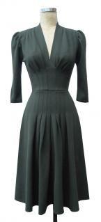 Trashy Diva - Jenny Long Sleeve - Rayon/Nylon/Spandex - Military (green) knit