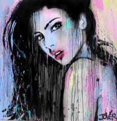 "Saatchi Art Artist Loui Jover; Painting, ""wild orchid - ((SOLD))"" #art"