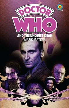 "Doctor Who | The Unquiet Dead | 18 x 12"" Target Paperback Pastiche by DadManCult on Etsy, $12.99"