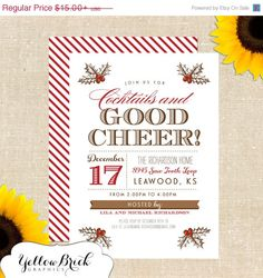 SHARE the LUCK SALE Good Cheer Holiday / by YellowBrickGraphics, $11.25