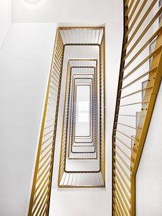 ArchitekturfotografieWohnüberbauung Burgdorf, Alfred Müller AG Stairs, Mirror, Furniture, Home Decor, Real Estates, Architecture, Stairway, Decoration Home, Room Decor