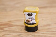 Extra hot Irish mustard (Senf) von Lakeshore Fine Foods, nur mit den besten Zutaten und frischem Quellwasser hergestellt. Ideal zu jeder Art von Fleisch sowie als Bestandteil von Saucen. Im Geschmack typisch irischer Senf