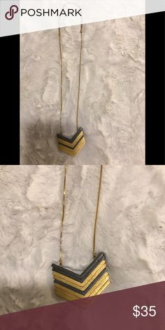 Madewell Long Necklace Long Madewell Necklace. Hardly worn! Madewell Jewelry Necklaces