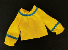 Long Sleeve Peplum Top, Yellow Balloons, Barbie Friends, Mattel Barbie, Gift Sets, Sweatshirts, Sweaters, Blue, Collection