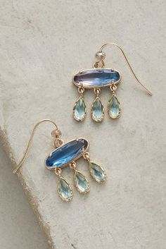 Ombre Flutter Drop Earrings from Anthropologie Jewelry Box, Jewelery, Jewelry Accessories, Statement Earrings, Women's Earrings, Small Earrings, Fashion Jewelry, Women Jewelry, Best Jewelry Stores