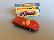 MATCHBOX SUPERFAST 68a PORSCHE 910, SCORPION LABEL, BOXED