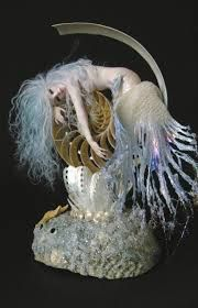 Image result for ooak mermaid art doll bjd