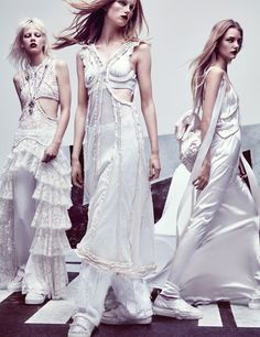 day dreams: greta, karly, lineisy, marjan, molly, rianne, roos and tami by craig mcdean for w february 2016 | visual optimism; fashion editorials, shows, campaigns & more!