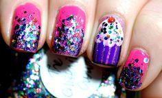 Cupcake Nails! <3