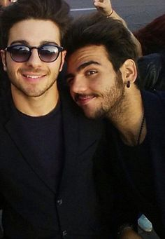 Ignazio and Gianluca :) haha.