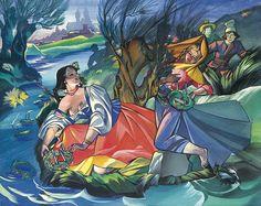 Midsummer in Polish art: Zofia Stryjeńska Illustrators, Traditional Art, Sketches, Illustration, Painting, Art, European Paintings, Woodcut, Old Paintings