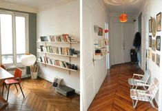 Steal This Look: A Summery Flat in Paris : Remodelista. Noguchi-lamp