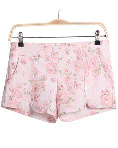 Short estampado flores-Rosa claro EUR15.74