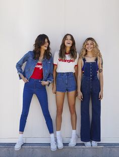From sea to shining sea, a new collaboration from Wrangler Australia and Urban Outfitters shakes up old-school Americana. Más