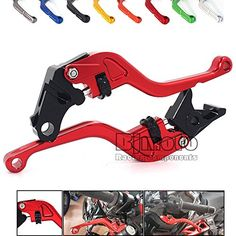 Motorcycle 2016 New Design Thumb Wheel Roller Adjuster CNC Short Brake Clutch Levers For Honda Brakes Cnc, Honda, Motorcycle Accessories, News Design, Motorbikes, Automobile, Stuff To Buy, Spirit, Watch