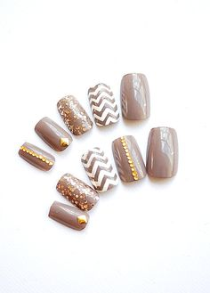 The Village Fake Nails Artificial Nails Press On by YummieNails