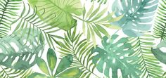 Affiche printable gratuite Tropical