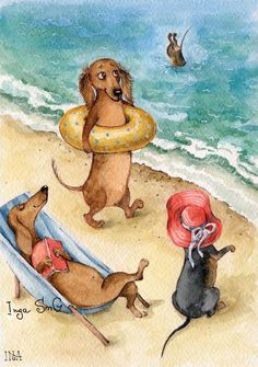 Get fantastic tips on Dachshund. They are actually accessible for you on our internet site. Dachshund Funny, Arte Dachshund, Dachshund Love, Daschund, Weenie Dogs, Doggies, Delphine, Cute Animals, Animals And Pets