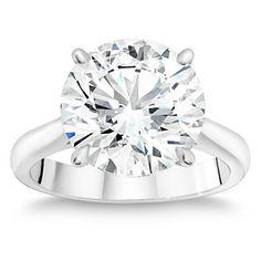Costco: 6.55 ct Round Brilliant VS1 Clarity, G Color Diamond Solitaire Ring-$329,999.99