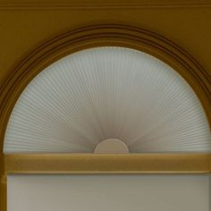 Signature Blackout Cellular Arch Blinds Arched Window Coverings Curtains