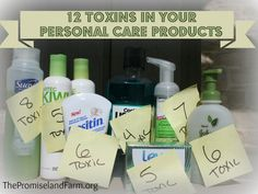 Poisoning Yourself & Your Family: 12 Toxins in Your Personal Care Products