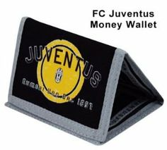 FC Juventus Crest Money Wallet by Juventus F.C.. $14.38. This official FC Juventus crest wallet is ideal for all young Juve fans to keep their pocket money safe. This Juventus wallet is made from durable nylon and measures 9cm x 12cm.