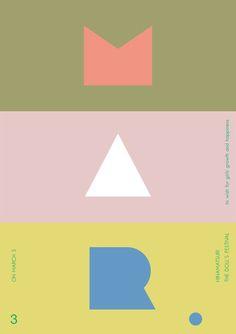 Creative Typography, Lettering, Japanese, Poster, and Hinamatsuri image ideas & inspiration on Designspiration Graphic Design Posters, Graphic Design Typography, Graphic Design Inspiration, Branding Design, Identity Branding, Poster Designs, Corporate Design, Illustration Photo, Illustrations