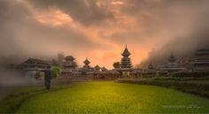 zhaoxing village__China by Daniel Metz on 500px