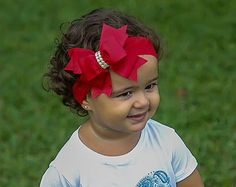 Baby Headband Navy Blue Big Bow Headband Baby Bow Headband
