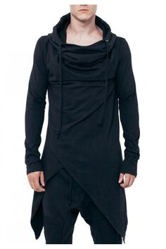 Visions of the Future // Asymmetrical Hooded Top