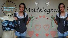 Molde vestido Tubinho por Alana Santos Blogger