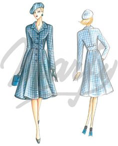 Our Patterns :: Marfy Collection 2014/2015 :: Autumn/Winter :: Sewing Pattern 3472 -