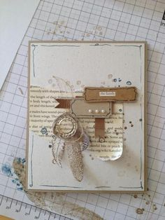 great use of neutrals and I like the splash of blue ink too