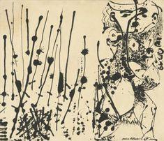 Jackson Pollock (American, 1912-1956), Number 7, 1951, 1951. Enamel on canvas, 143.5 x 167.6 cm.