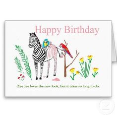 Funny birthday card for her. $3.05