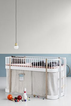 Wood Collection low loft bed by Oliver Furniture