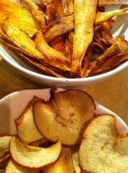 Chips van pastinaak- lekker en gezond