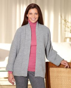 Free Loom Pattern: Loom Knit Kimono Jacket