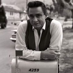 RockAbilly boy — Johnny Cash, Los Angeles, 1960 by Don Hunstein