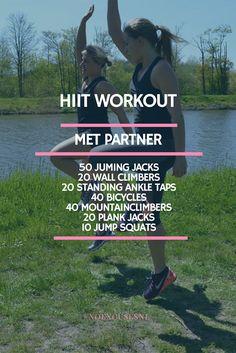 Een heerlijke vrolijke HIIT workout! Natuurlijk hebben we ook een video van deze workout!