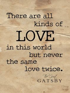 A beautiful Great Gatsby quote that anyone will love.: