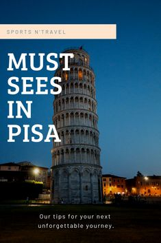 Must Sees in Pisa, Click web site other content Hotel Am Meer, European City Breaks, Pisa Italy, Travel Around Europe, Amalfi Coast, Sicily, Italy Travel, Continents, Taj Mahal