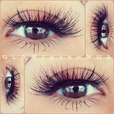 Makeup Inspirations / Now also available at Colour Hair & Beauty Lashes by Bridgette