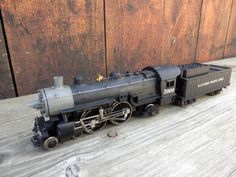 Selten-Rivarossi-L-SP-R-H0-Southern-Pacific-Lines-USA-Dampflok-mit-OVP-gebraucht