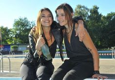 #GZSZ Anni and Jasmin!