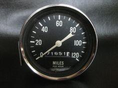 Studebaker '57 Golden Hawk Speedometer speedo Stewart by attic41, $149.95