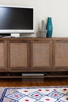 Blake Media Console on making it lovely//love this combo