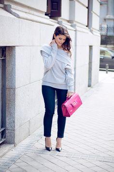 El toque perfecto para mi look de hoy es el bolso de @neideprates