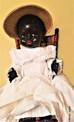 Pedigree Delite Negro Girl – DeeBeeGee's Virtual Black Doll Museum™ Doll Museum, Chubby Cheeks, Lace Slip, Black People, Caricature, African, Dolls, Black, Baby Dolls