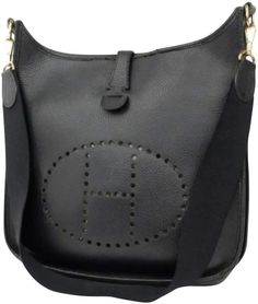 69b438144042 Hermes Evelyne leather crossbody bag Hermes Vintage